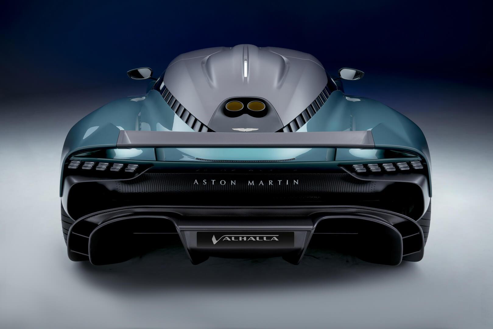 Плагин-гибридный гиперкар Aston Martin Valhalla