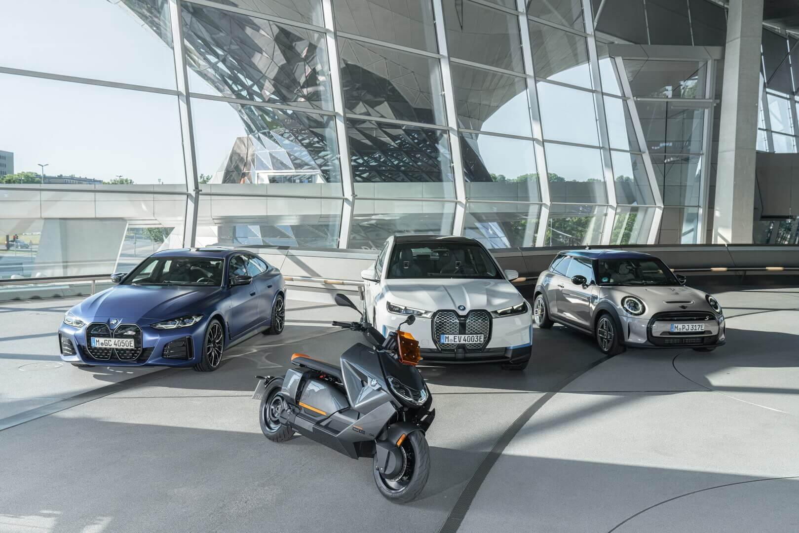 BMW CE 04 получил электромотор с жидкостным охлаждением