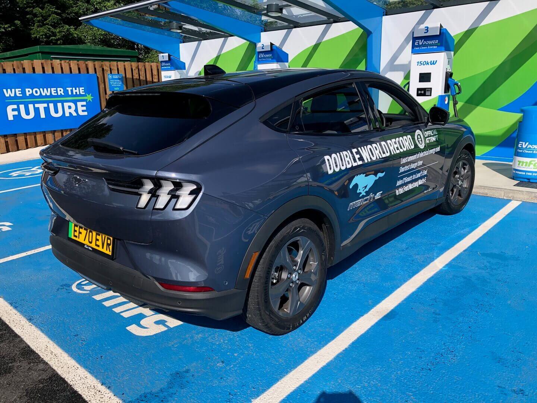 Ford Mustang Mach-E устанавливает мировой рекорд поэффективности электромобилей