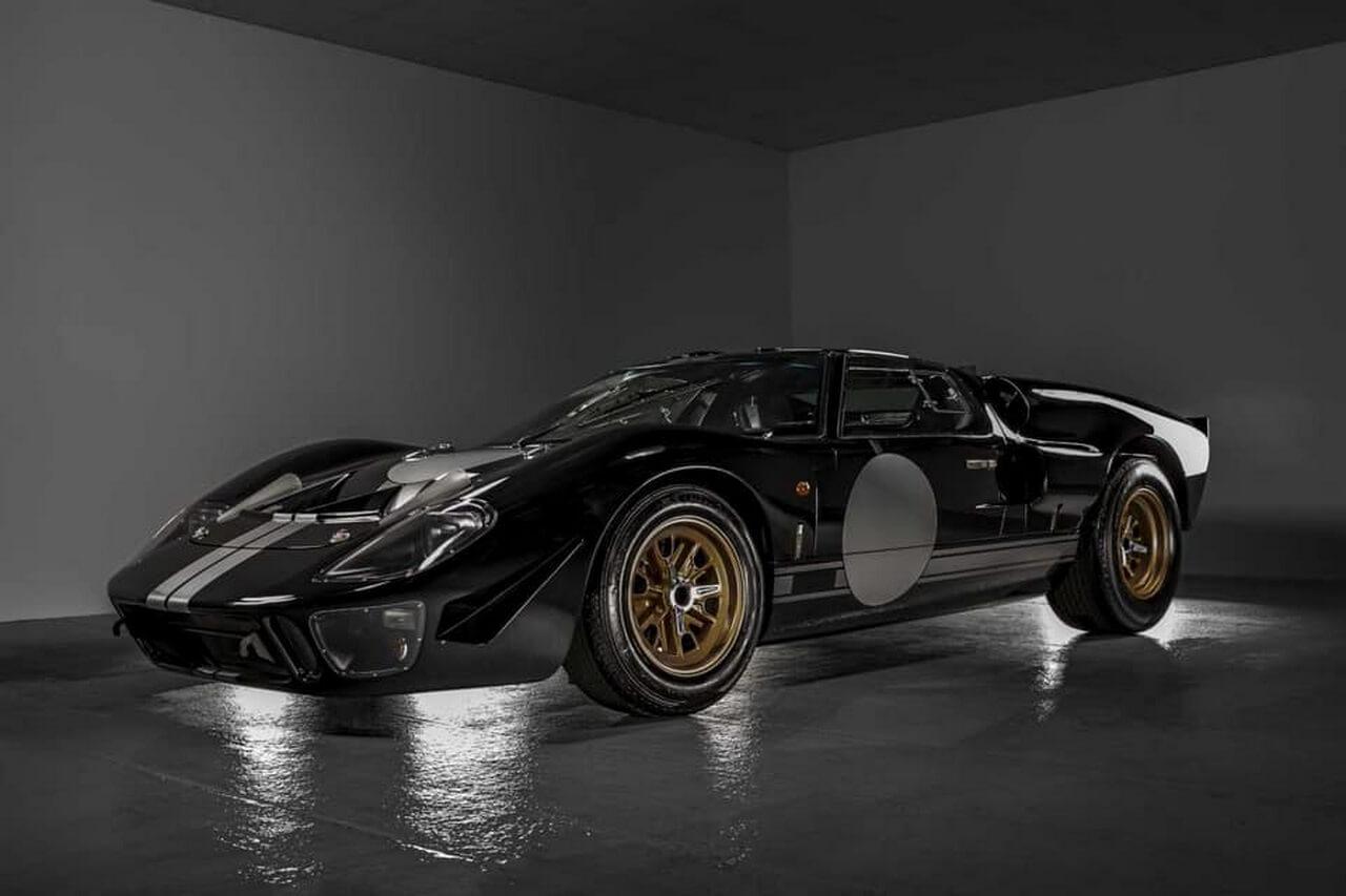Everrati иSuperformance создают полностью электрический Ford GT40