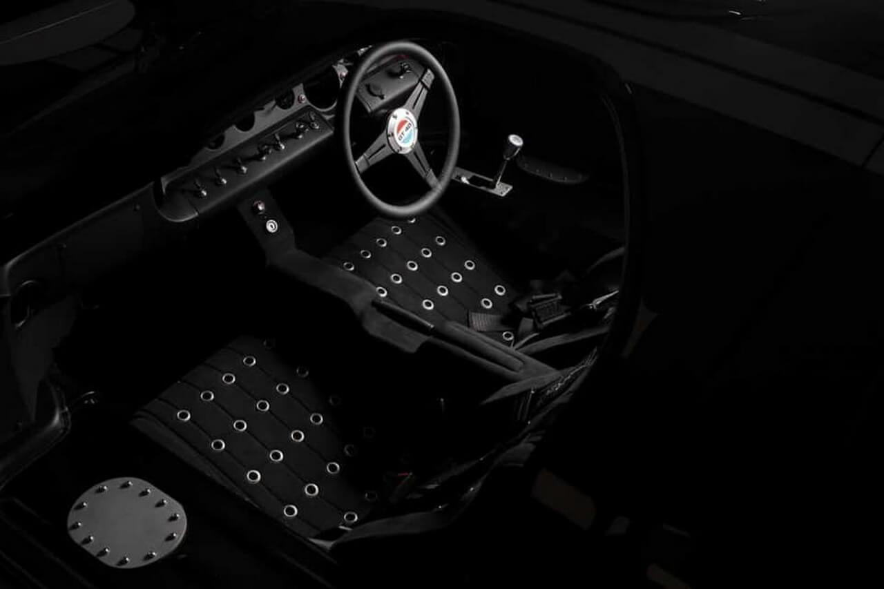 Экстерьер электриечского E-GT40
