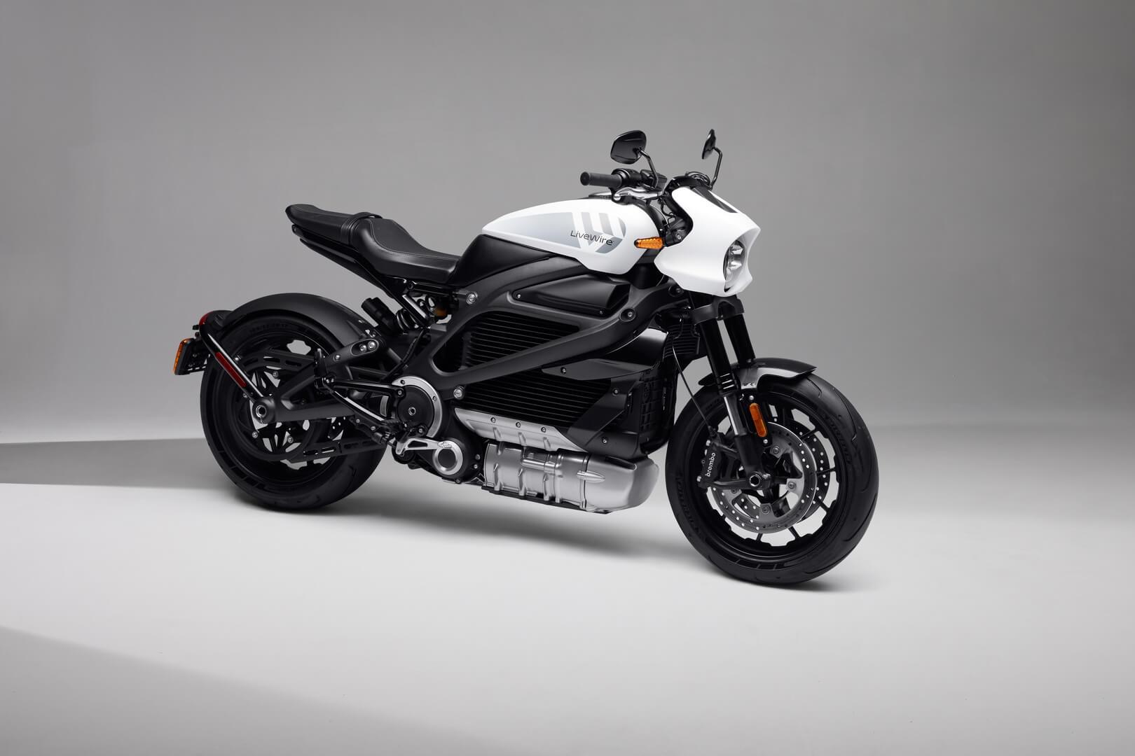 Электрический мотоцикл Harley-Davidson LiveWire ONE