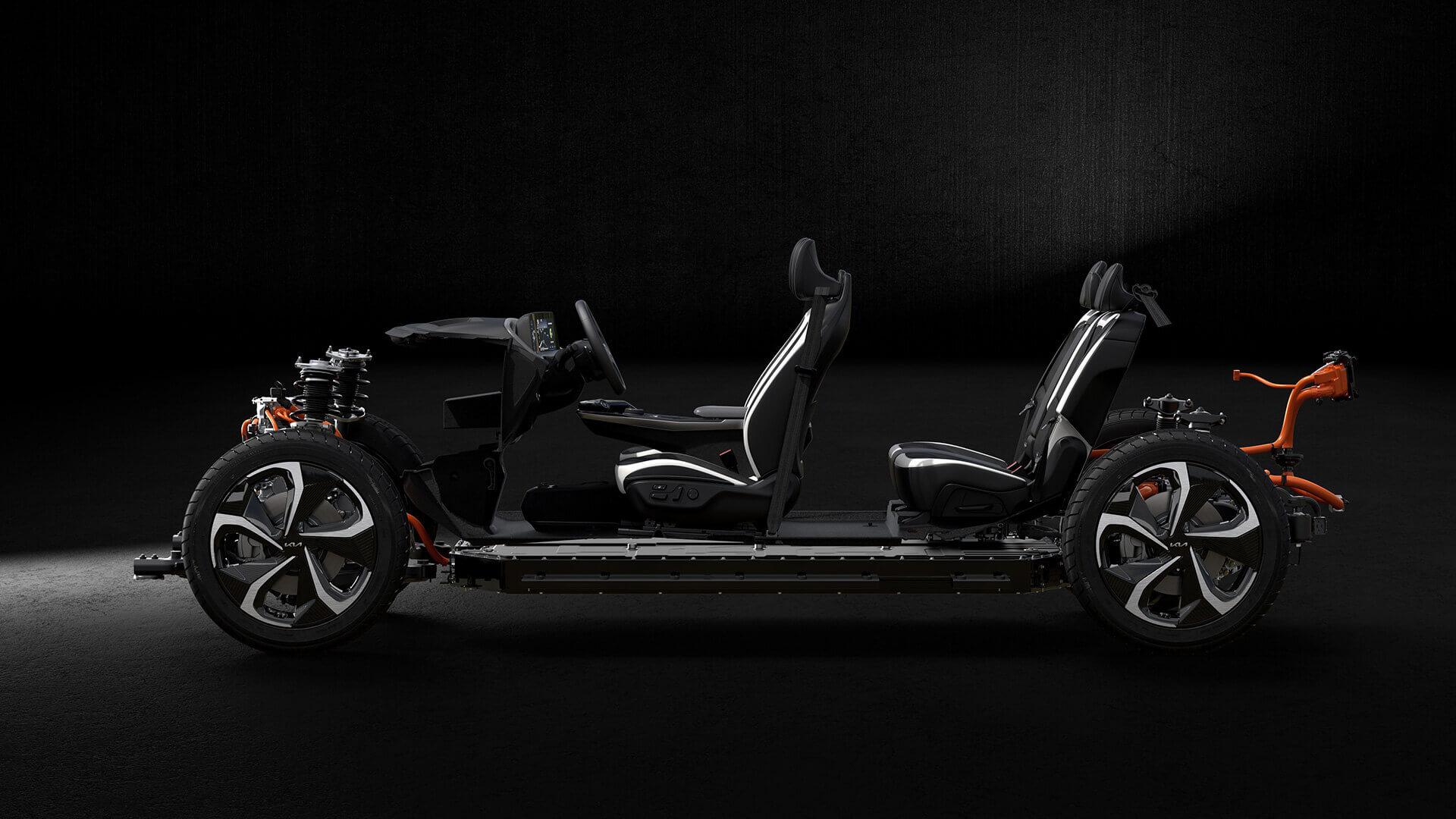 Cпециализированный электромобиль Kia EV6 обеспечивает лучшее внутреннее пространство в своем сегменте