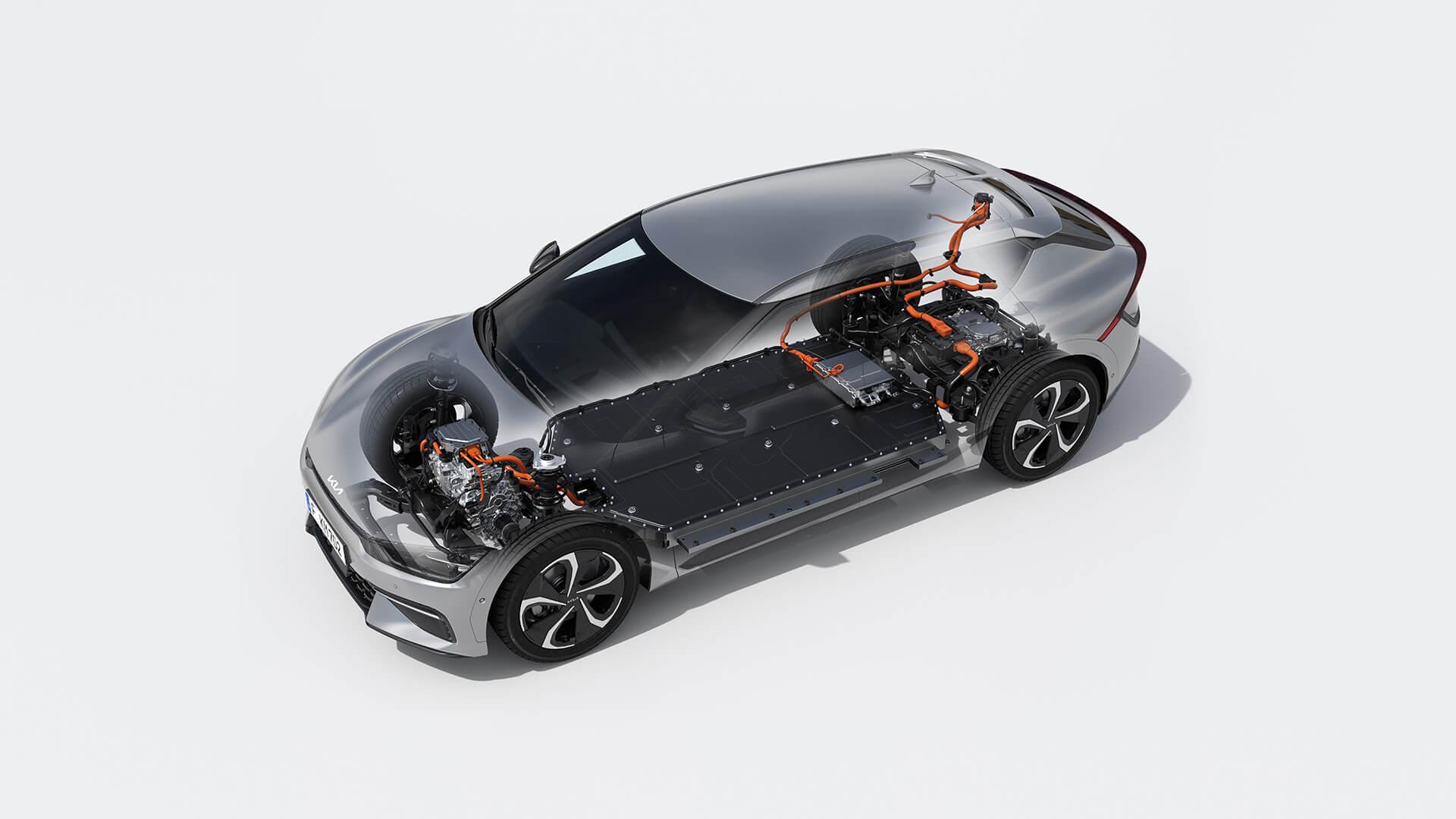 Kia EV6 создан нановой модульной платформе E-GMP