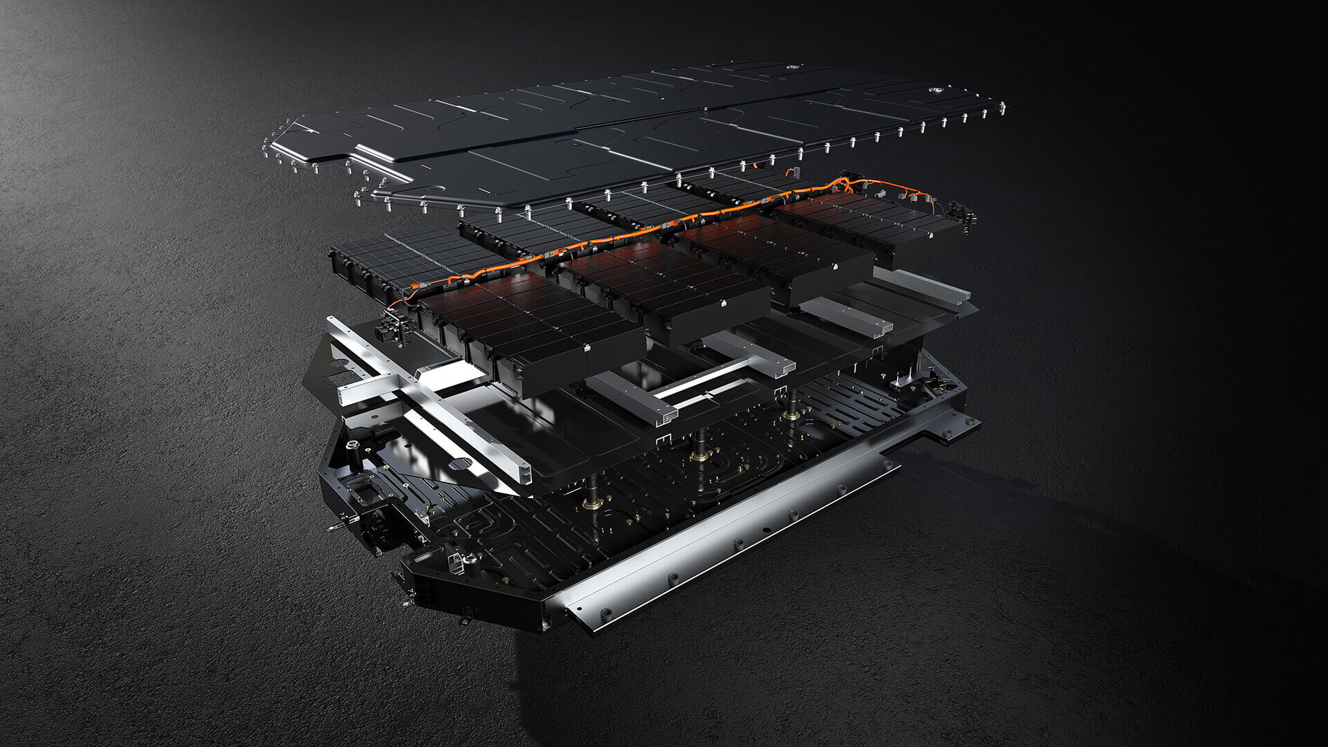 Конструкция аккумуляторной батареи Kia EV6