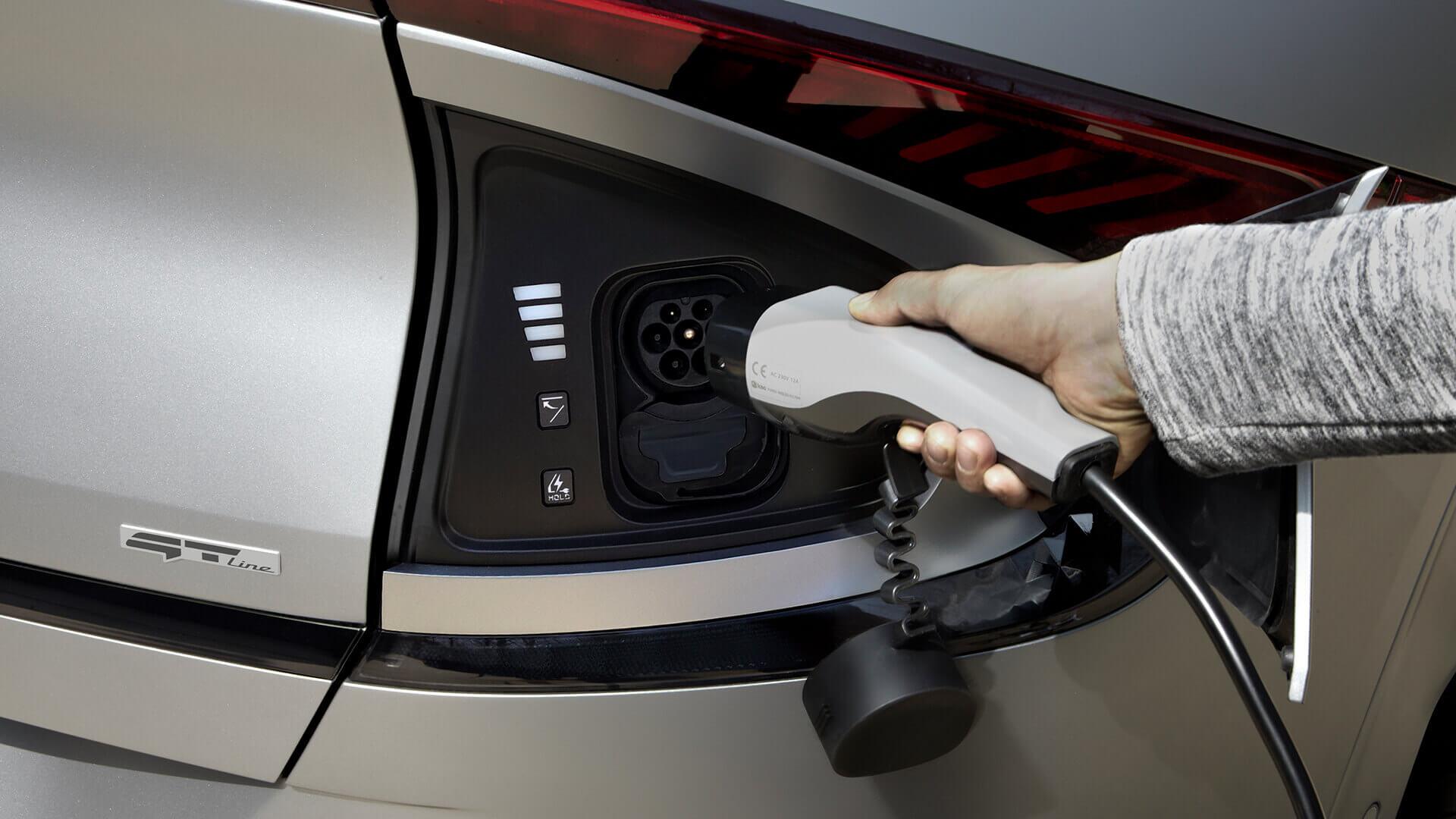 Kia EV6 представляет многофункциональную систему зарядки