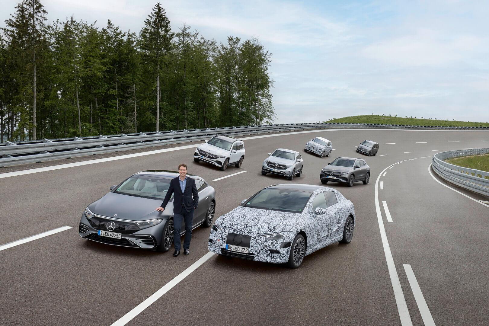 Mercedes-Benz полностью перейдет на электромобили с 2030 года
