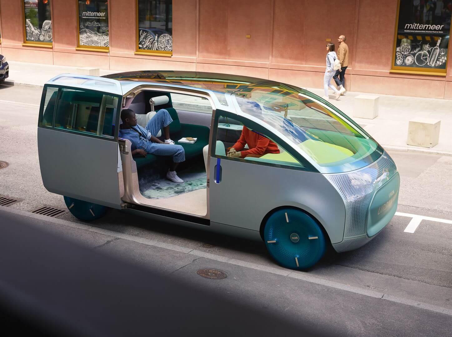 Концепт MINI Vision Urbanaut становится настоящим автомобилем