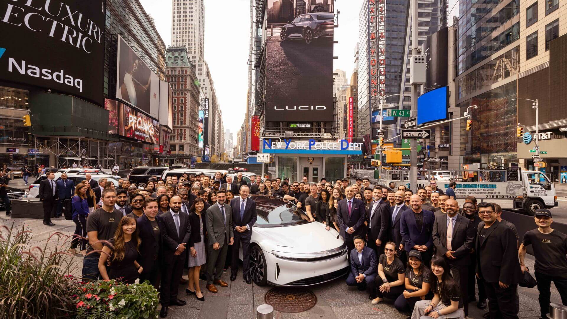 Производитель электромобилей Lucid Motors дебютирует наNASDAQ