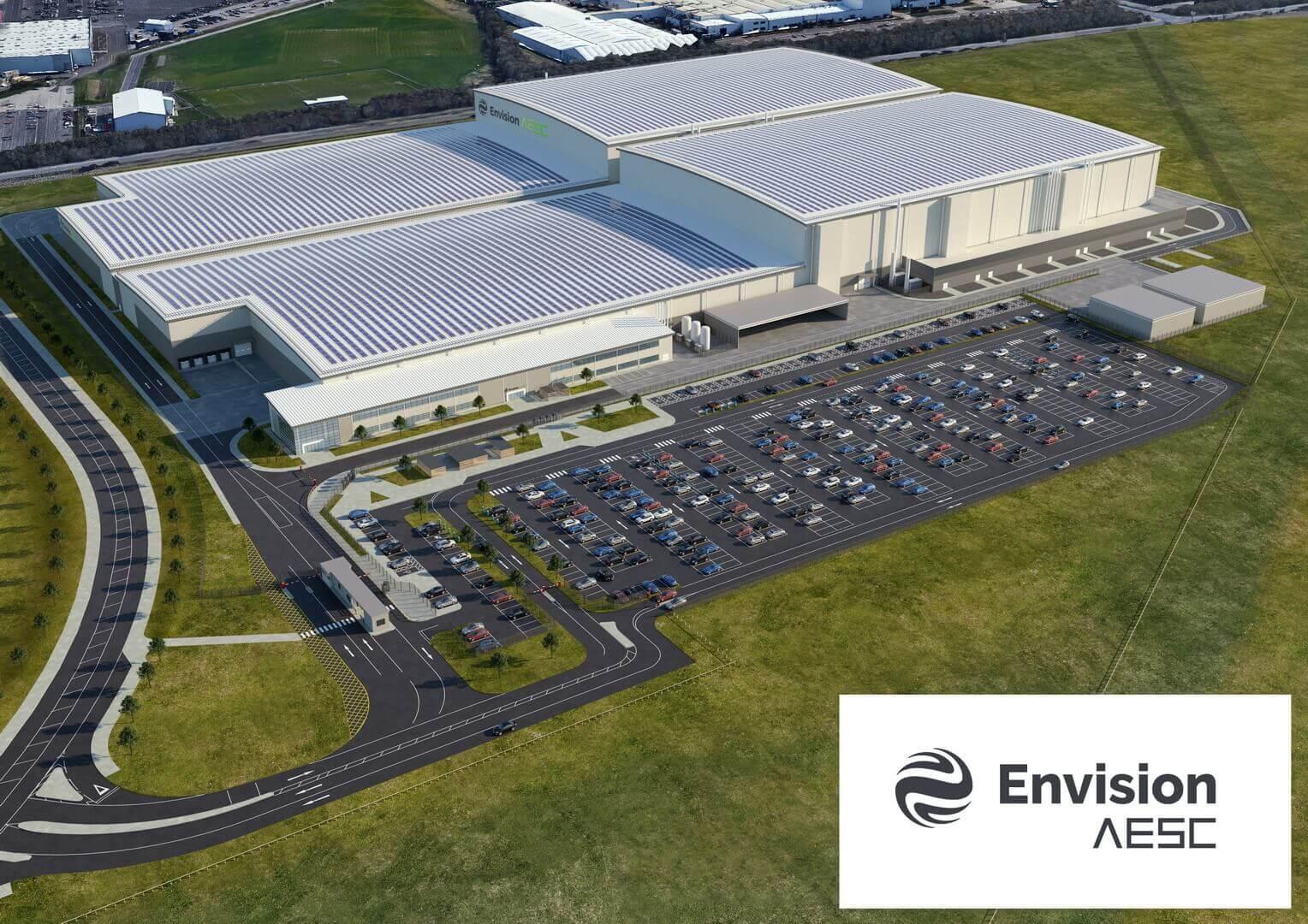 Мировой лидер по производству батарей и многолетний партнер Nissan, AESC Envision, построит новый завод для производства батарей «Gigafactory» мощностью 9 ГВт⋅ч оборудованный в соответствии с самыми передовыми технологиями