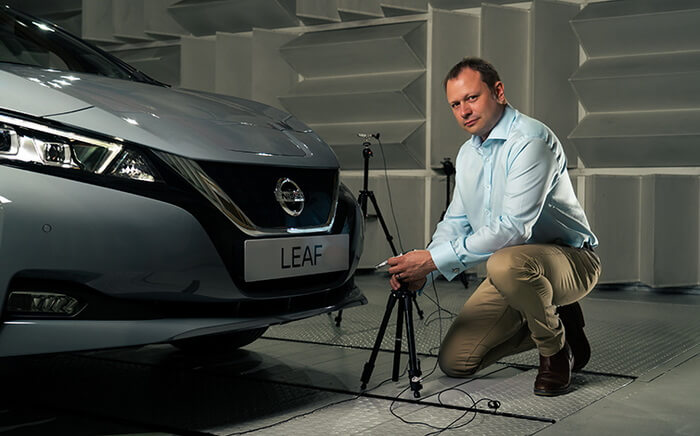 Nissan представил новую настройку для предотвращения аварий вLEAF MY21