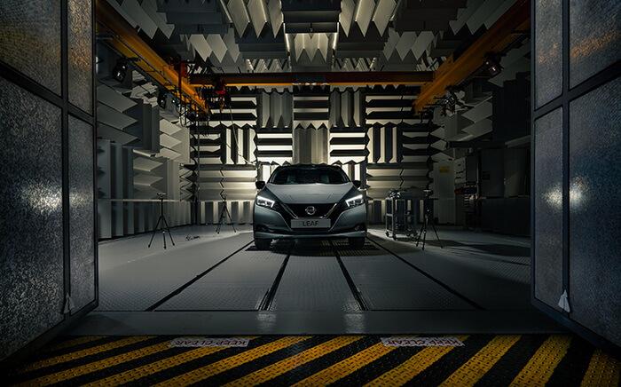 Nissan усовершенствовал звук Nissan LEAF 2021 модельного года