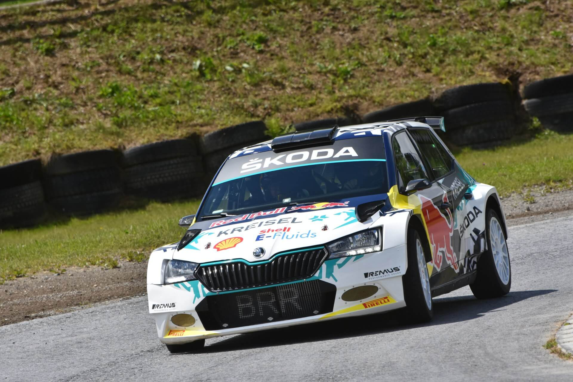 Skoda Motorsport представила электрический болид Skoda RE-X1 Kreisel