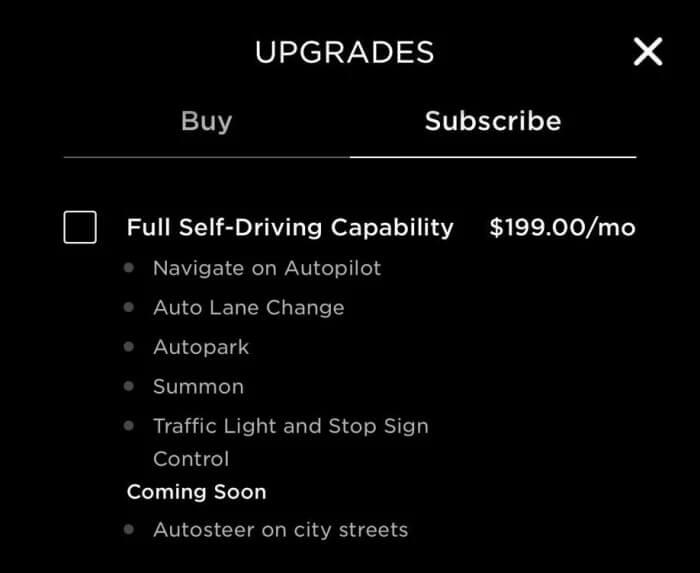 Tesla запускает подписку наFSD, чтобы сделать эту функцию более доступной иудобной