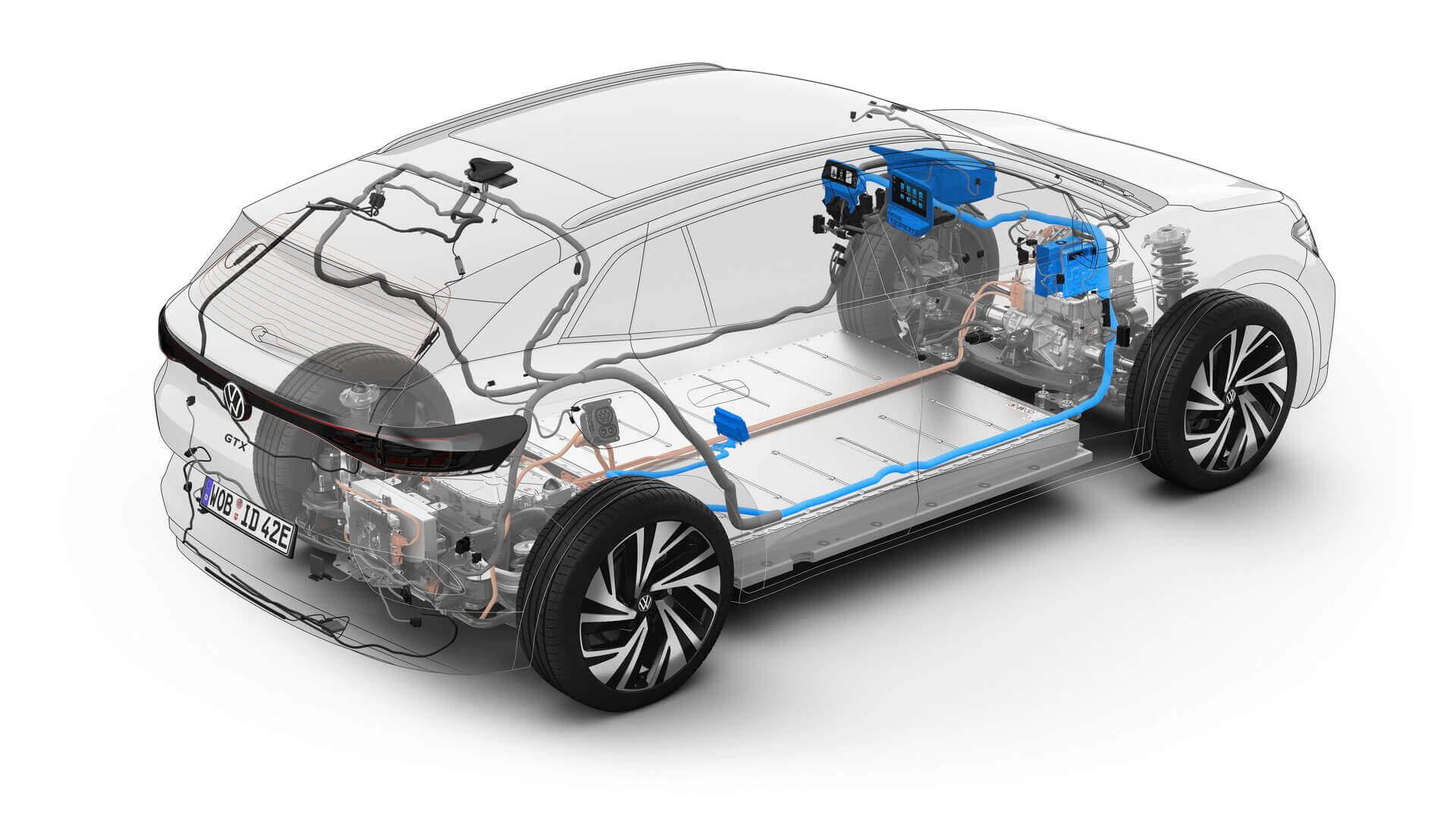 VWзапускает OTA-обновления для всех моделей семейства ID.
