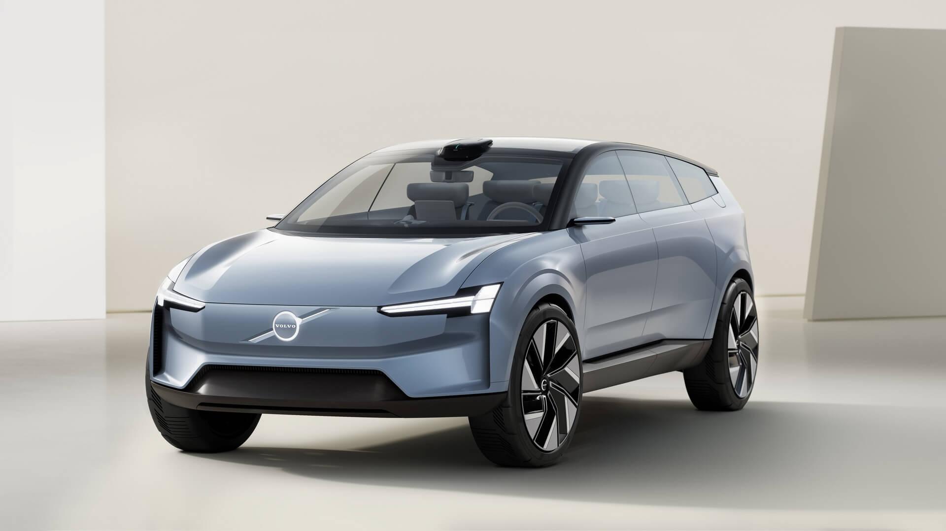 Volvo Concept Recharge — это манифест электрического будущего Volvo Cars