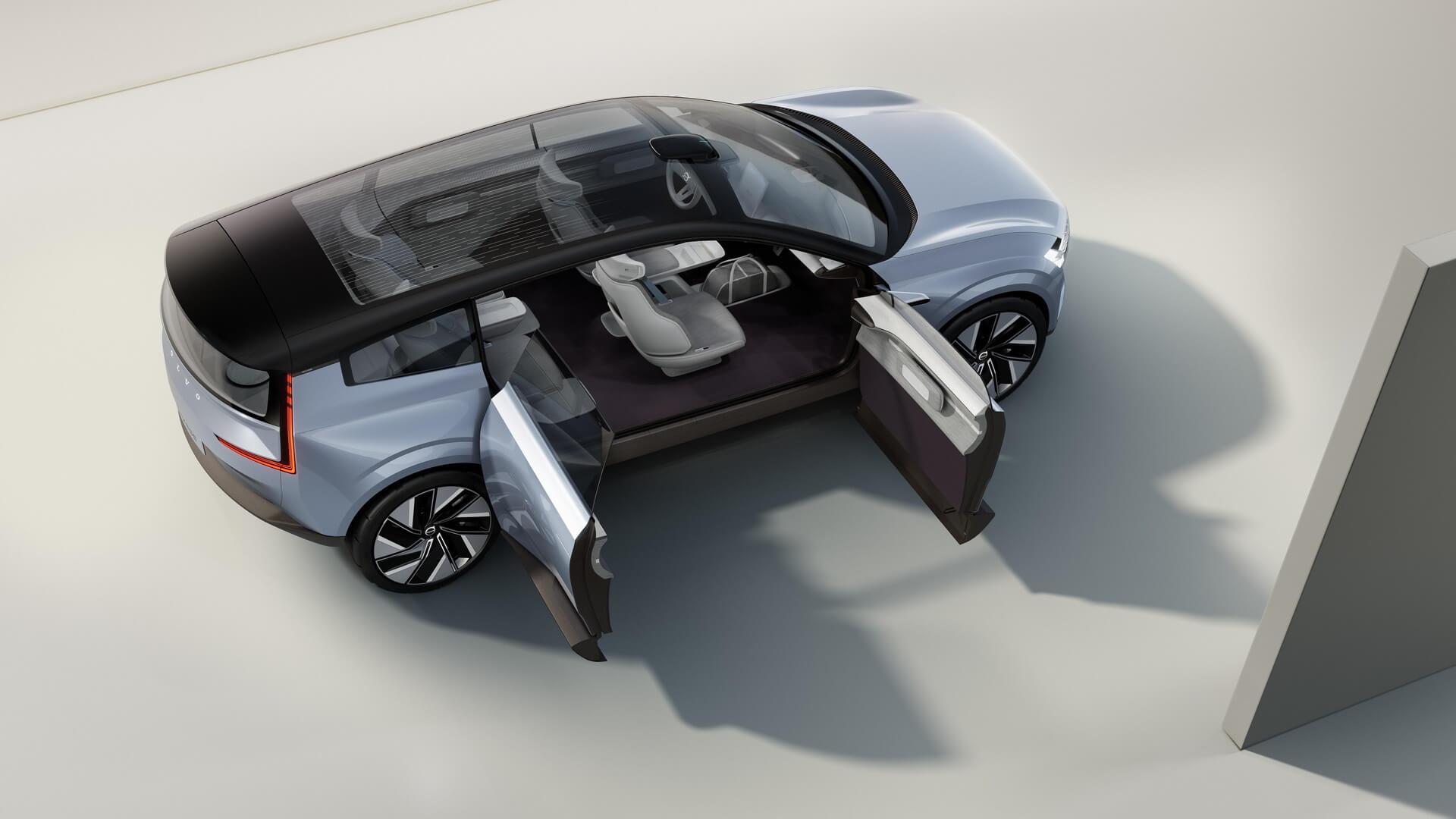 Concept Recharge— взгляд вэлектрическое будущее Volvo Cars