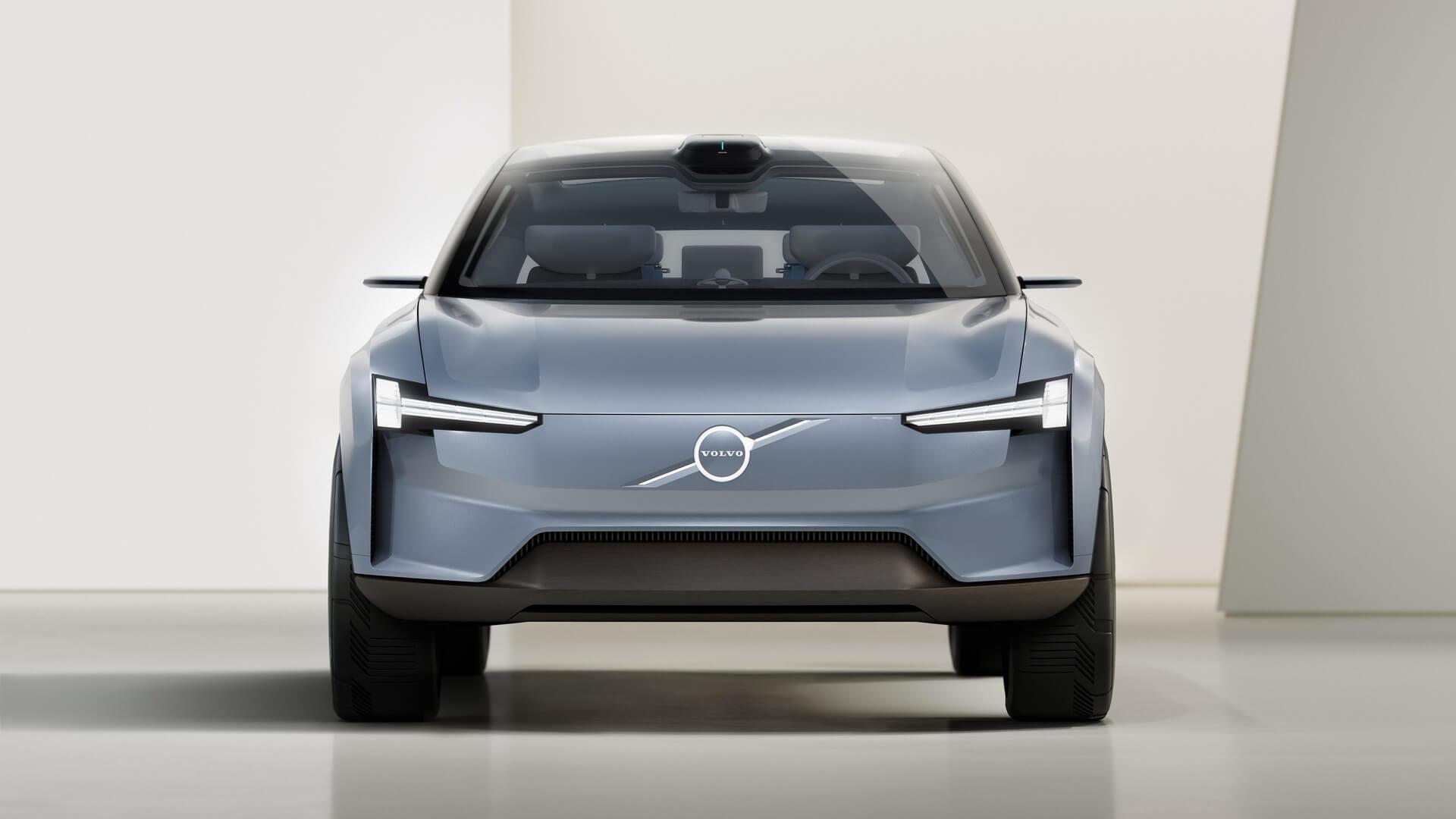 Volvo Concept Recharge— это манифест электрического будущего Volvo Cars