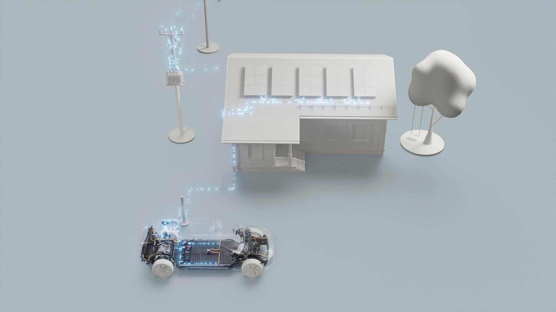Электромобили Volvo следующего поколения предложат двунаправленную зарядку