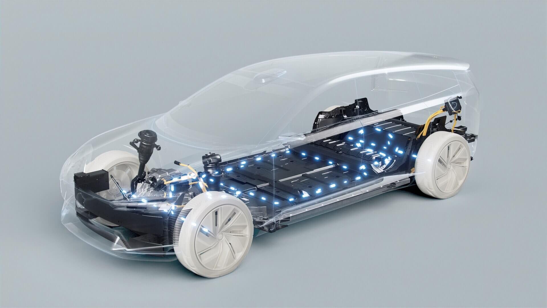 Будущие автомобили Volvo будут работать на новой операционной системе бренда VolvoCars.ОЅ