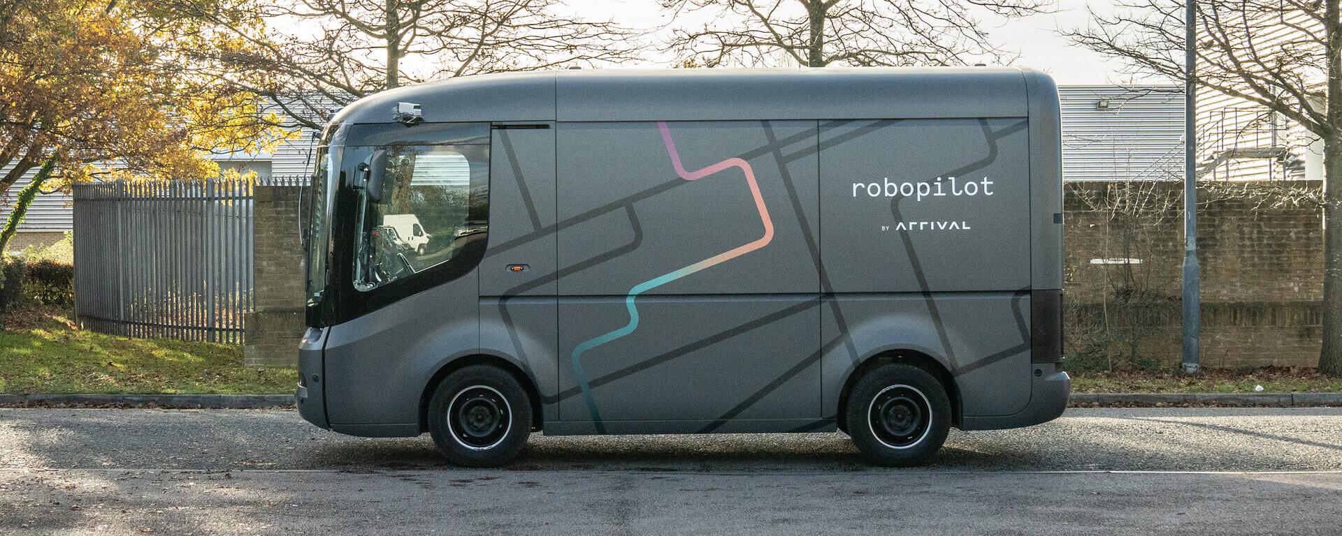 Фургон Arrival совершил первую автономную поездку без водителя
