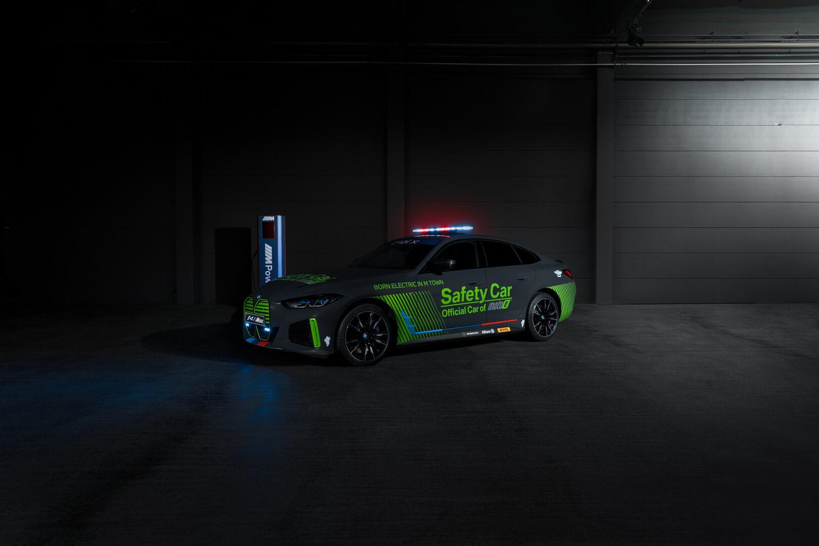 BMW i4 M50 дебютирует в качестве первого электромобиля безопасности компании