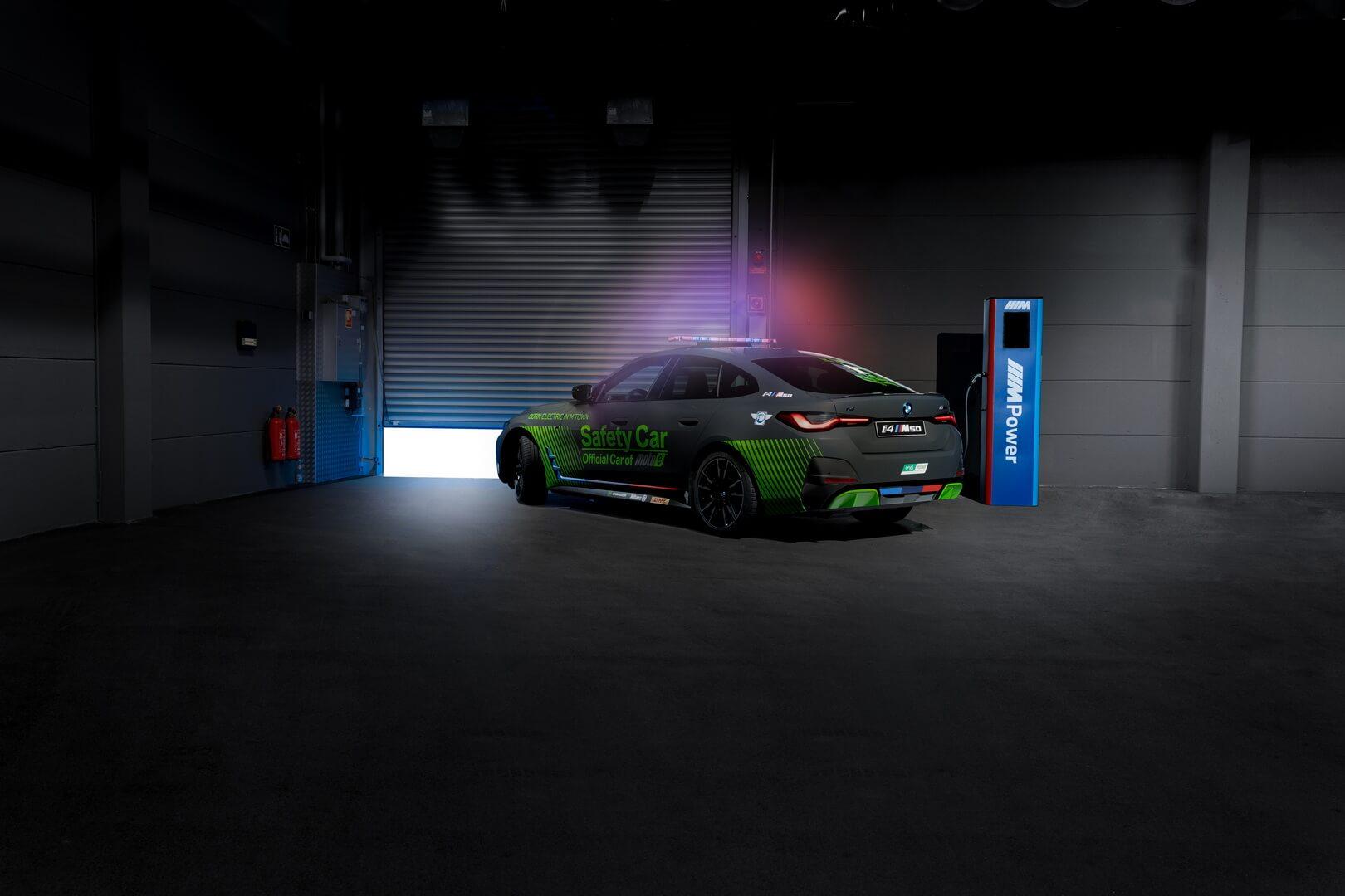 BMW выпустила электрический электрический автомобиль безопасности для MotoGP