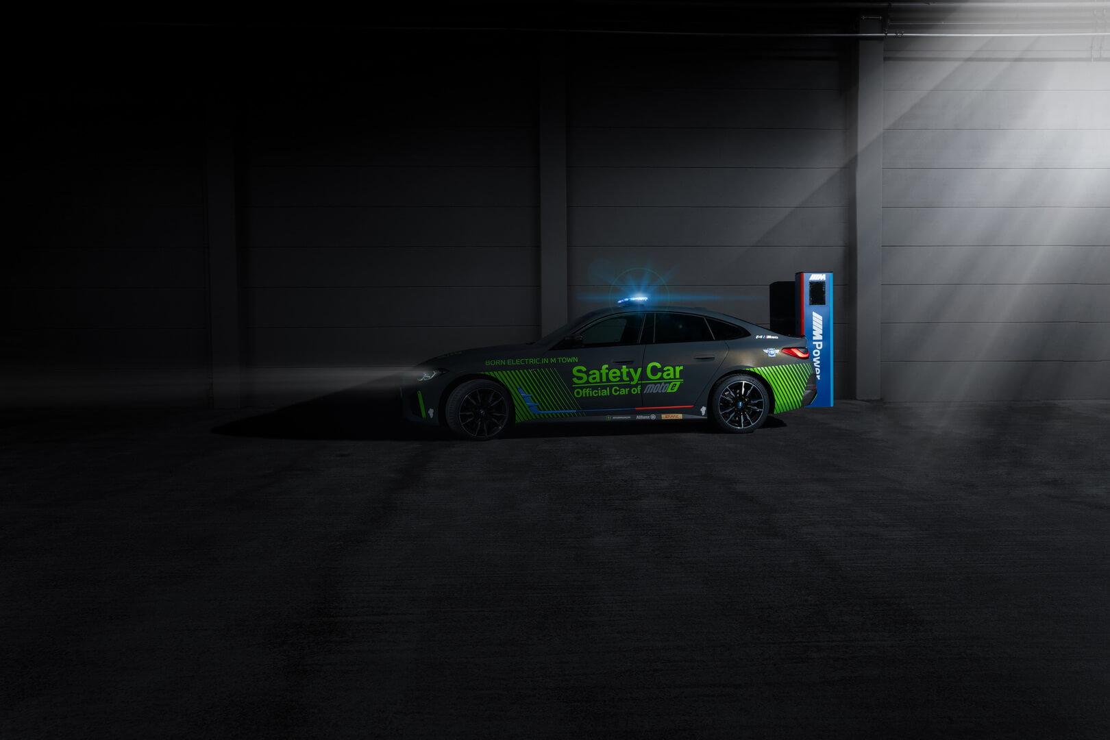 BMW i4 M50 стал первым полностью электрическим автомобилем безопасности BMW M