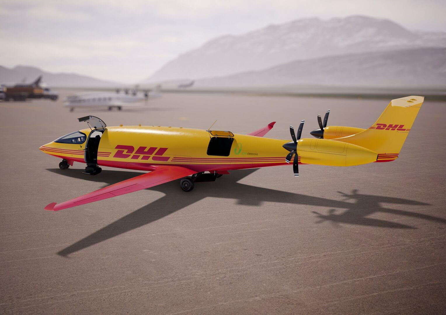 DHL планирует создать первую вмире сеть электрических грузовых авиаперевозок