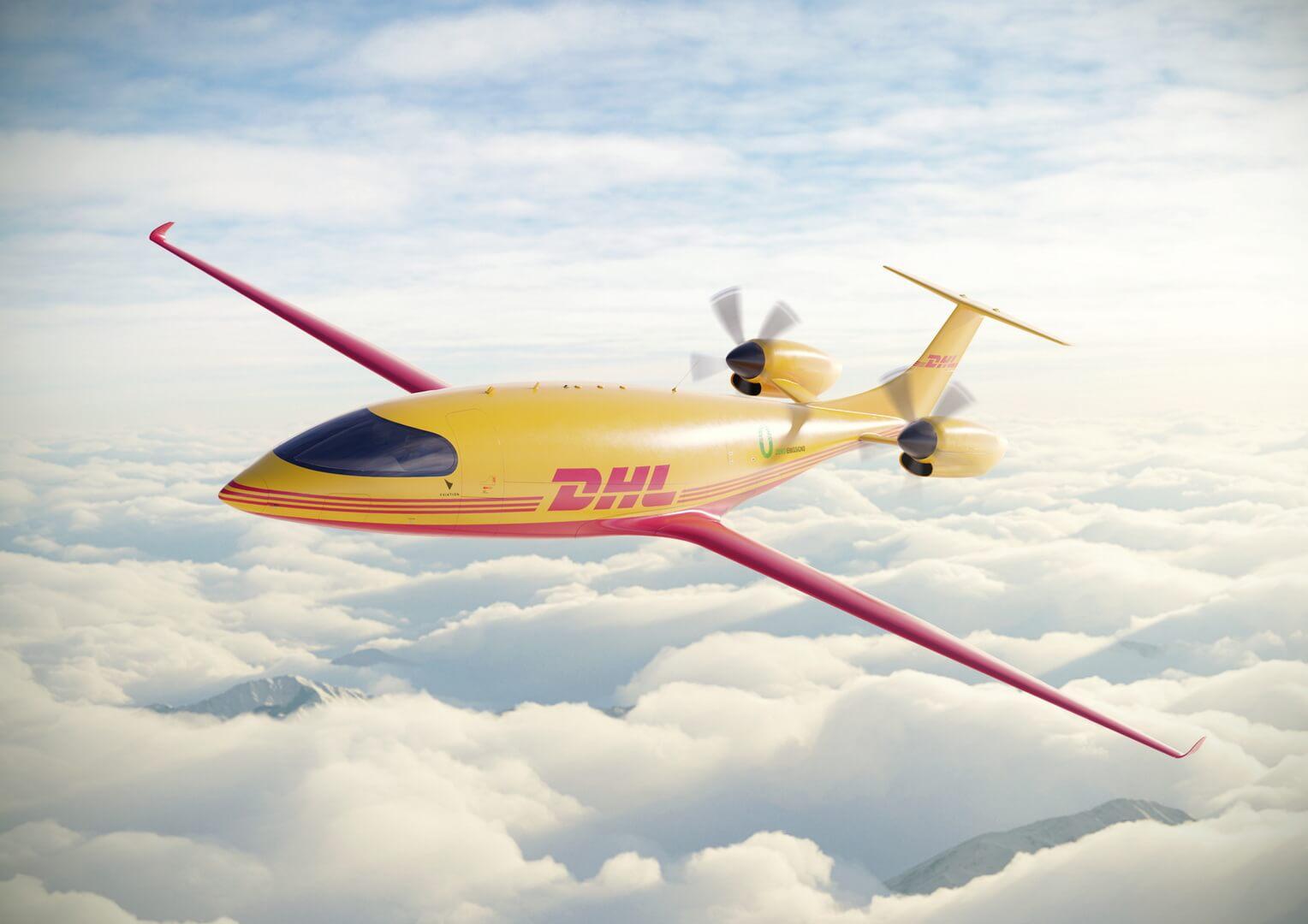 DHL планирует создать первую в мире сеть электрических грузовых авиаперевозок