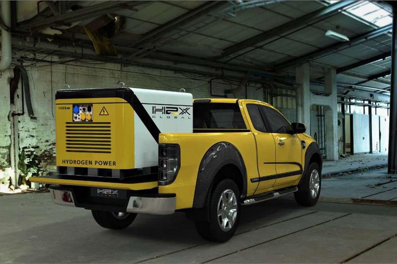 Водородный пикап H2X Warrego на базе Ford Ranger