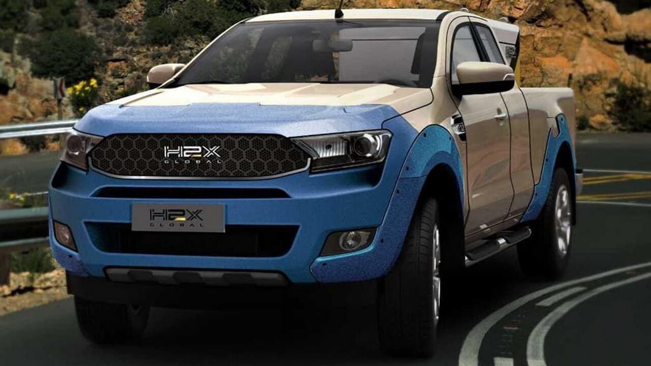 Пикап Ford Ranger получит версию на водородных топливных элементах