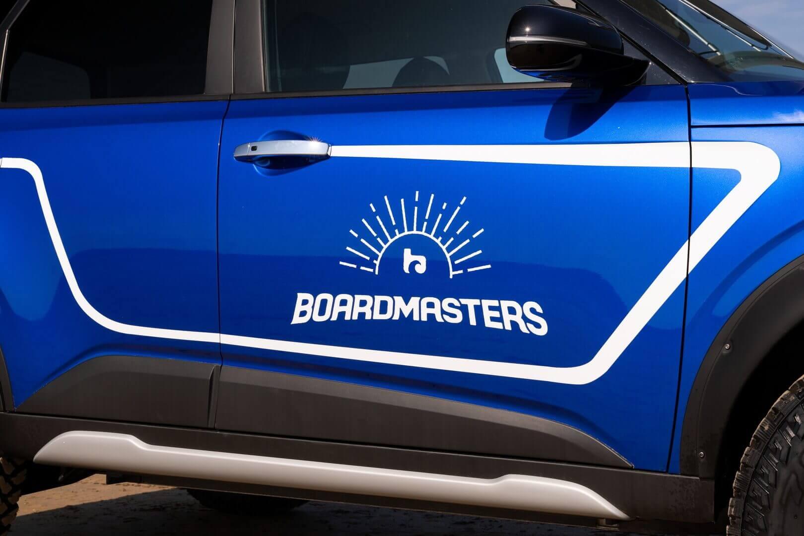 Уникальный электромобиль для выставки Boardmasters 2021