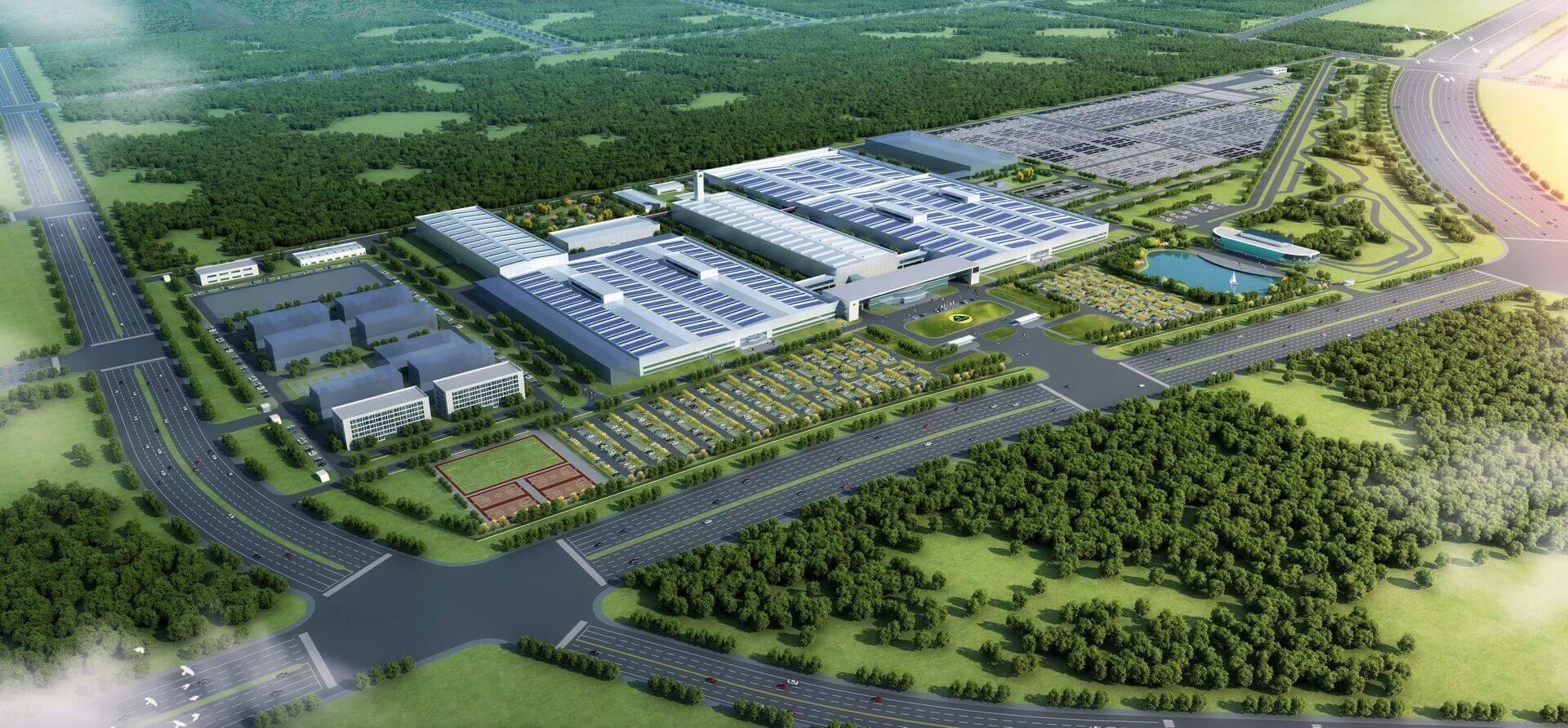 Полностью новый завод будет открыт в Китае в конце этого года, а в 2024 году откроется штаб-квартира Lotus Technology