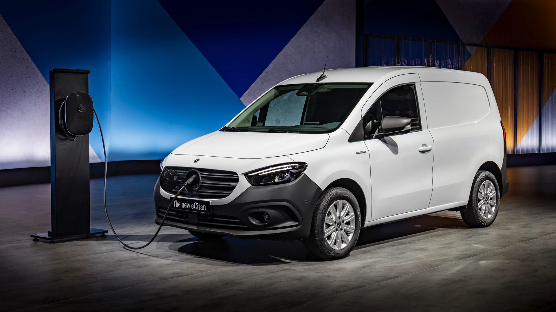 Электрофургон Mercedes-Benz eCitan будет выпущен в 2022 году