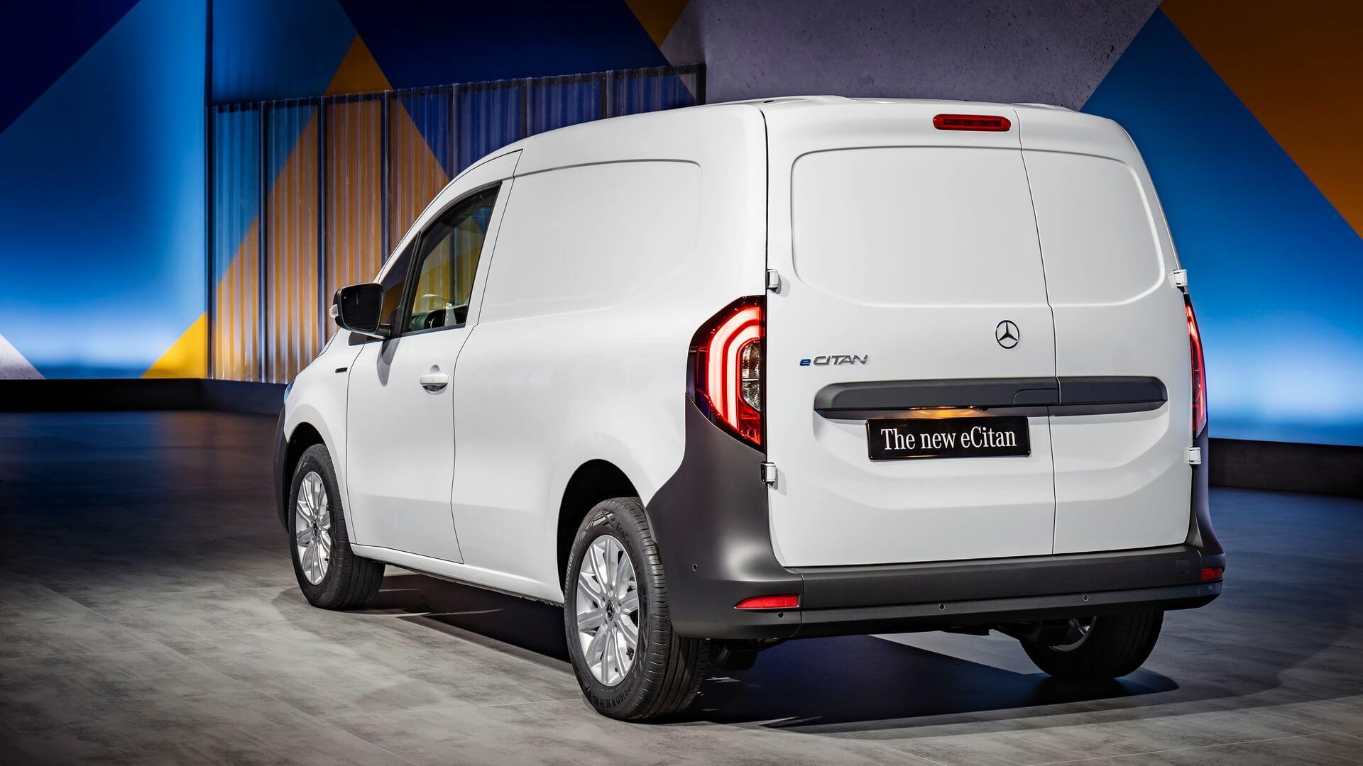 Электрофургон Mercedes-Benz eCitan присоединяется к eVito и eSprinter