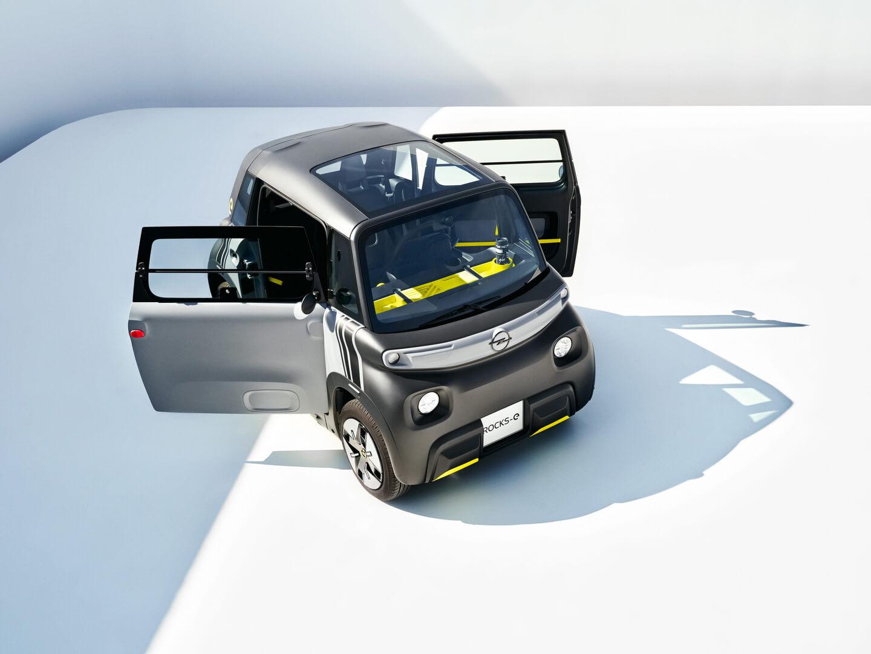 Opel Rocks-e: новый электромобиль для устойчивой городской мобильности