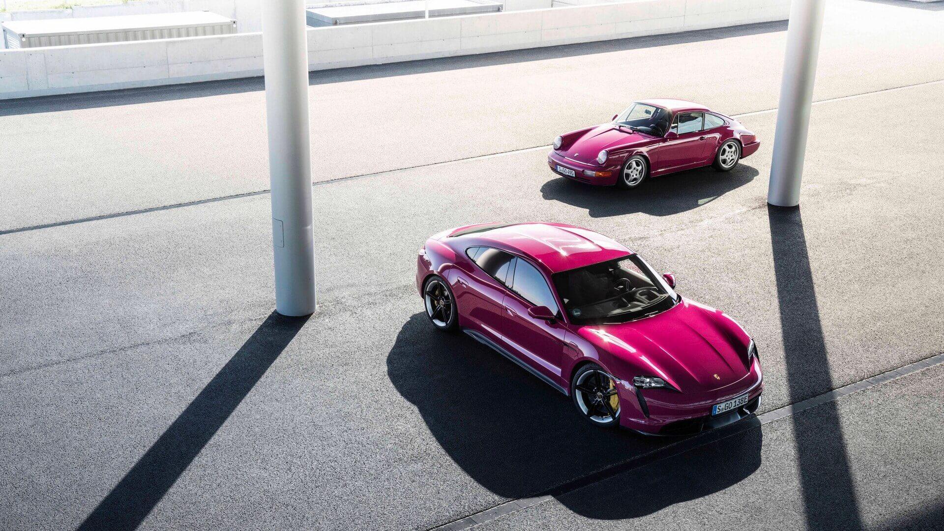 Porsche внесла некоторые изменения в Taycan и Taycan Cross Turismo для нового модельного года