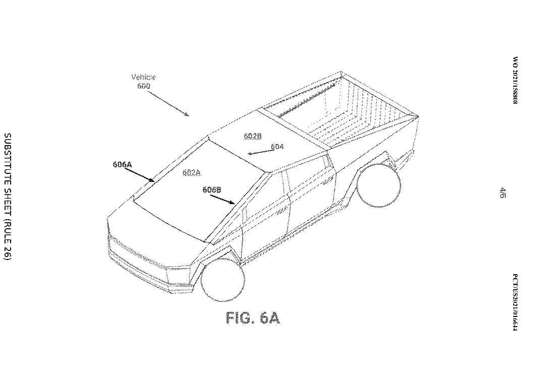 Cybertruck Tesla может иметь футуристические изогнутые окна
