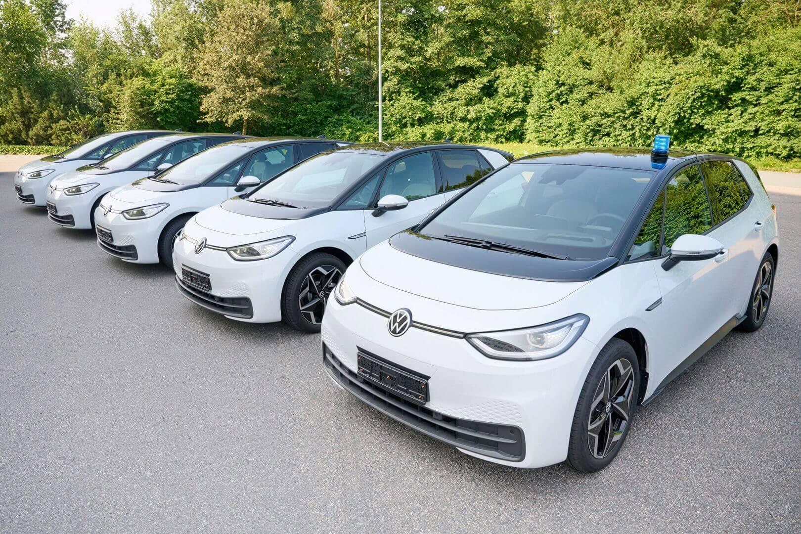 Volkswagen ID.3 станет полицейской машиной в Германии