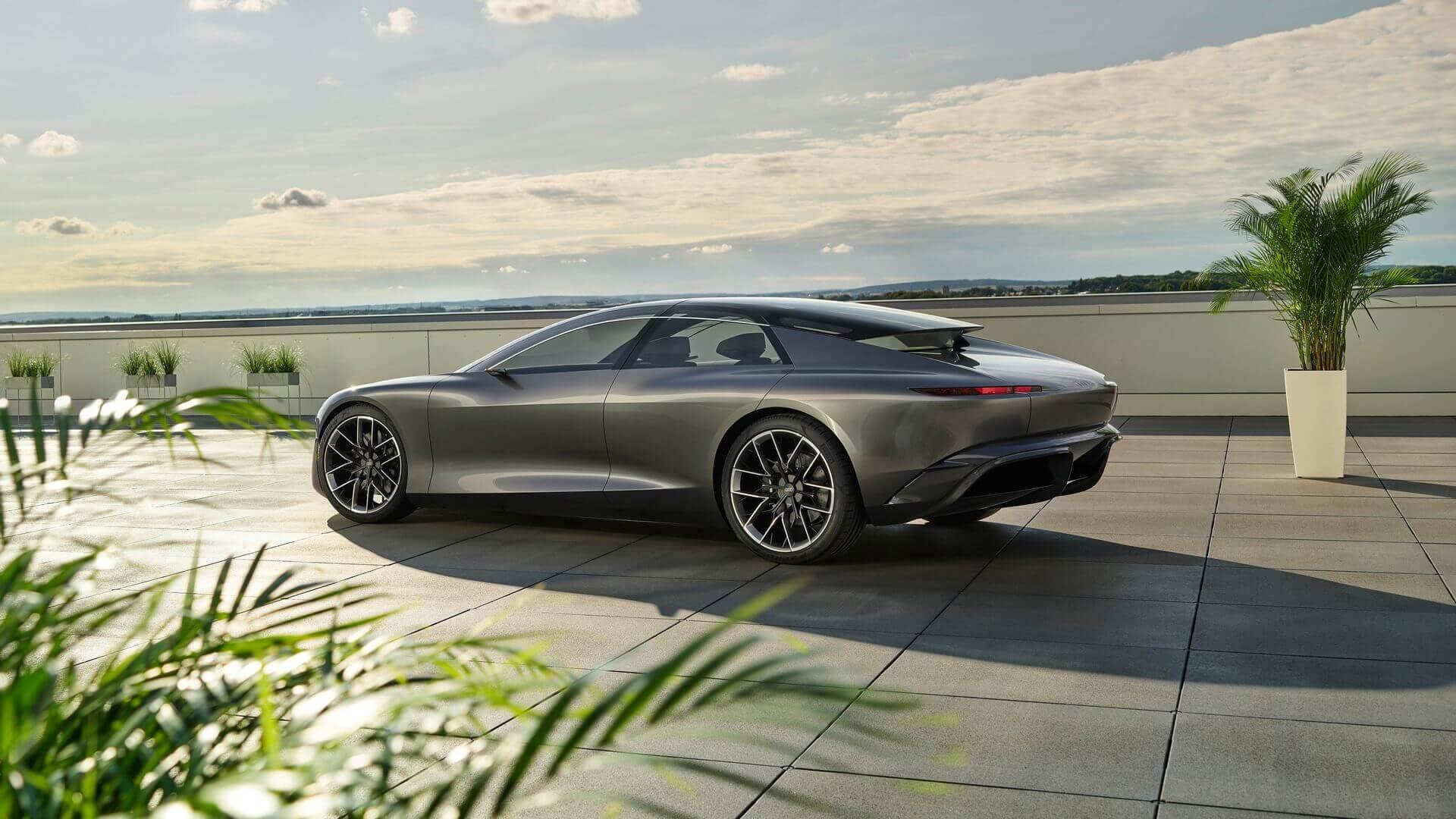 Концепт автономного роскошного электрического седана Audi Grandsphere