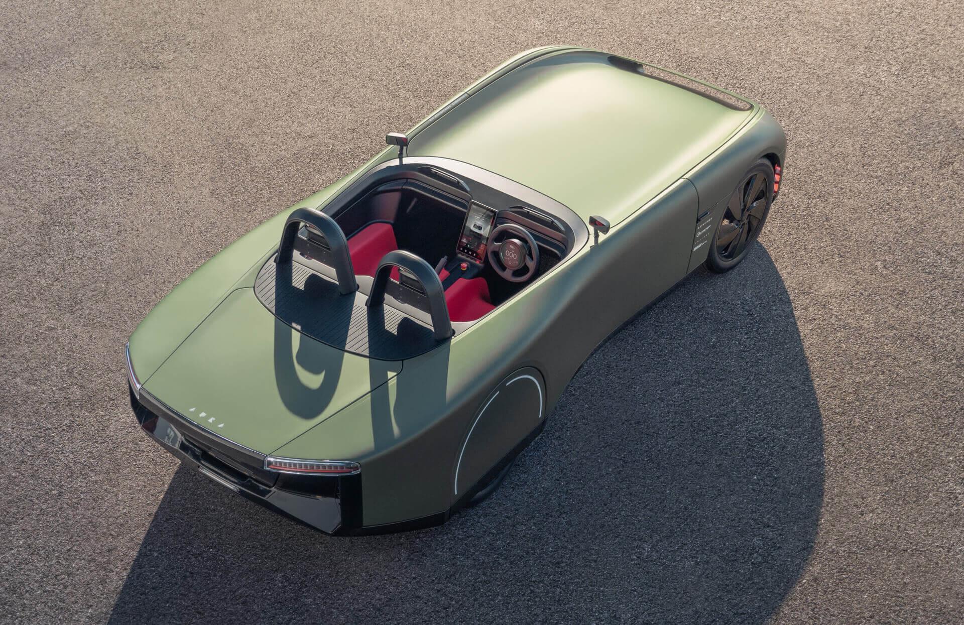 Концепт полностью электрического спортивного автомобиля Aura