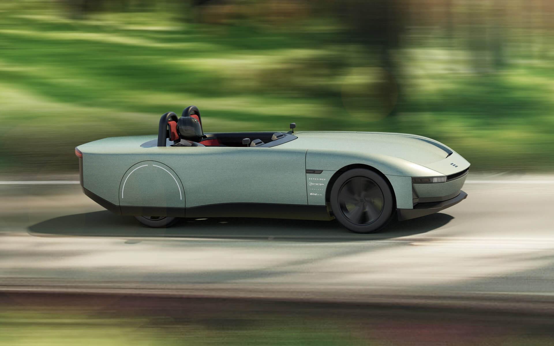 Электрический родстер Aura - это автомобиль будущего