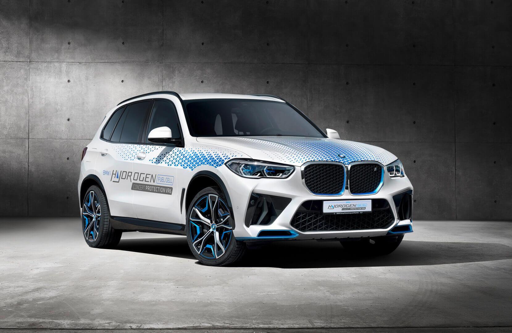 BMW Concept iX5 Hydrogen Protection VR6: первый в мире сертифицированный автомобиль безопасности с трансмиссией на водородных топливных элементах