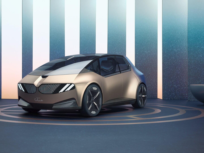 BMW представляет футуристический взгляд сконцептом iVision Circular