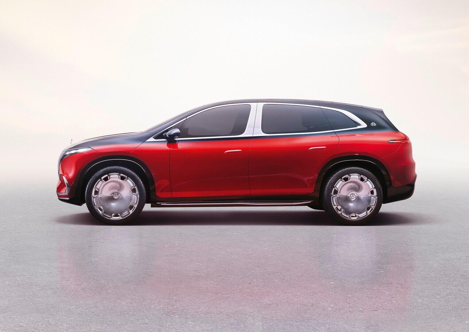 Концепт Mercedes-Maybach EQS— ультра-роскошный электромобиль