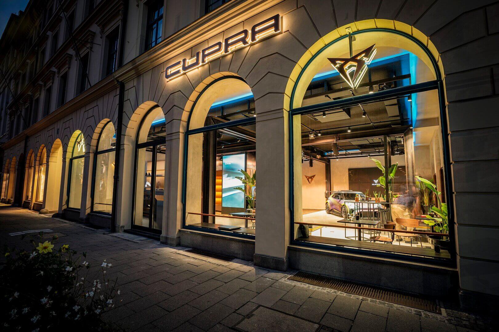 Врамках своей стратегии глобализации CUPRA выбрала Мюнхен для открытия своего новейшего City Garage