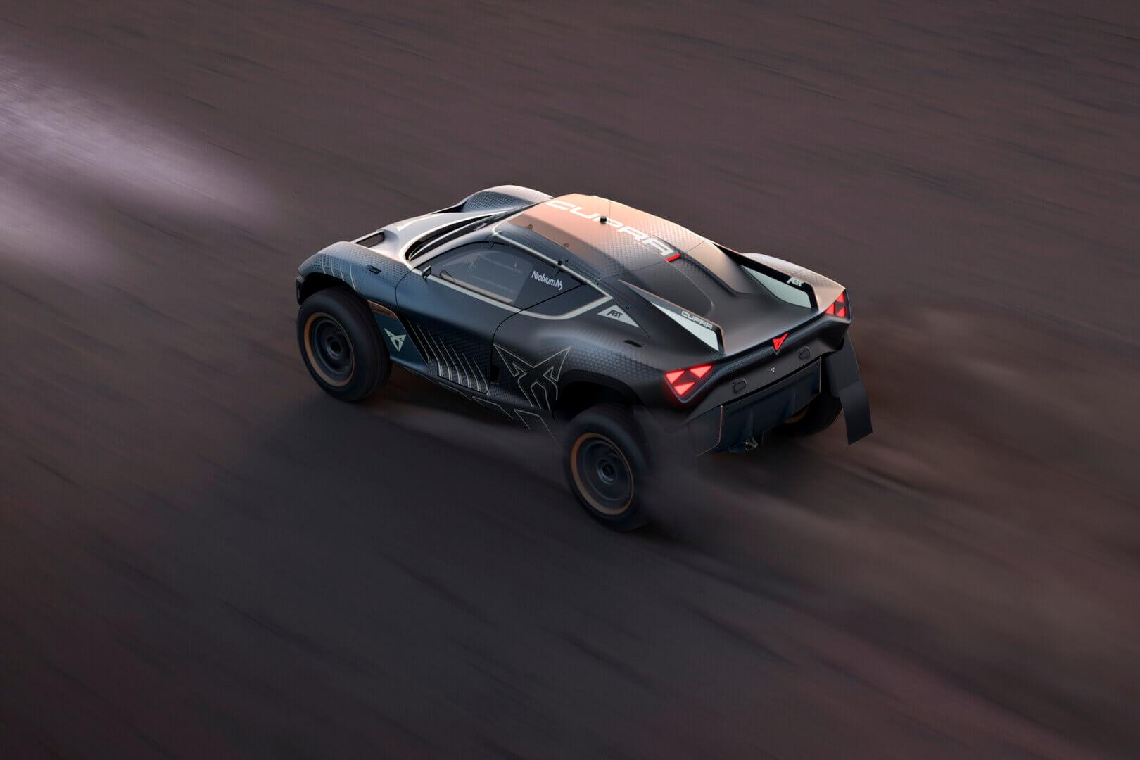 Концепт Cupra Tavascan Extreme-E намекает навторой серийный электромобиль бренда