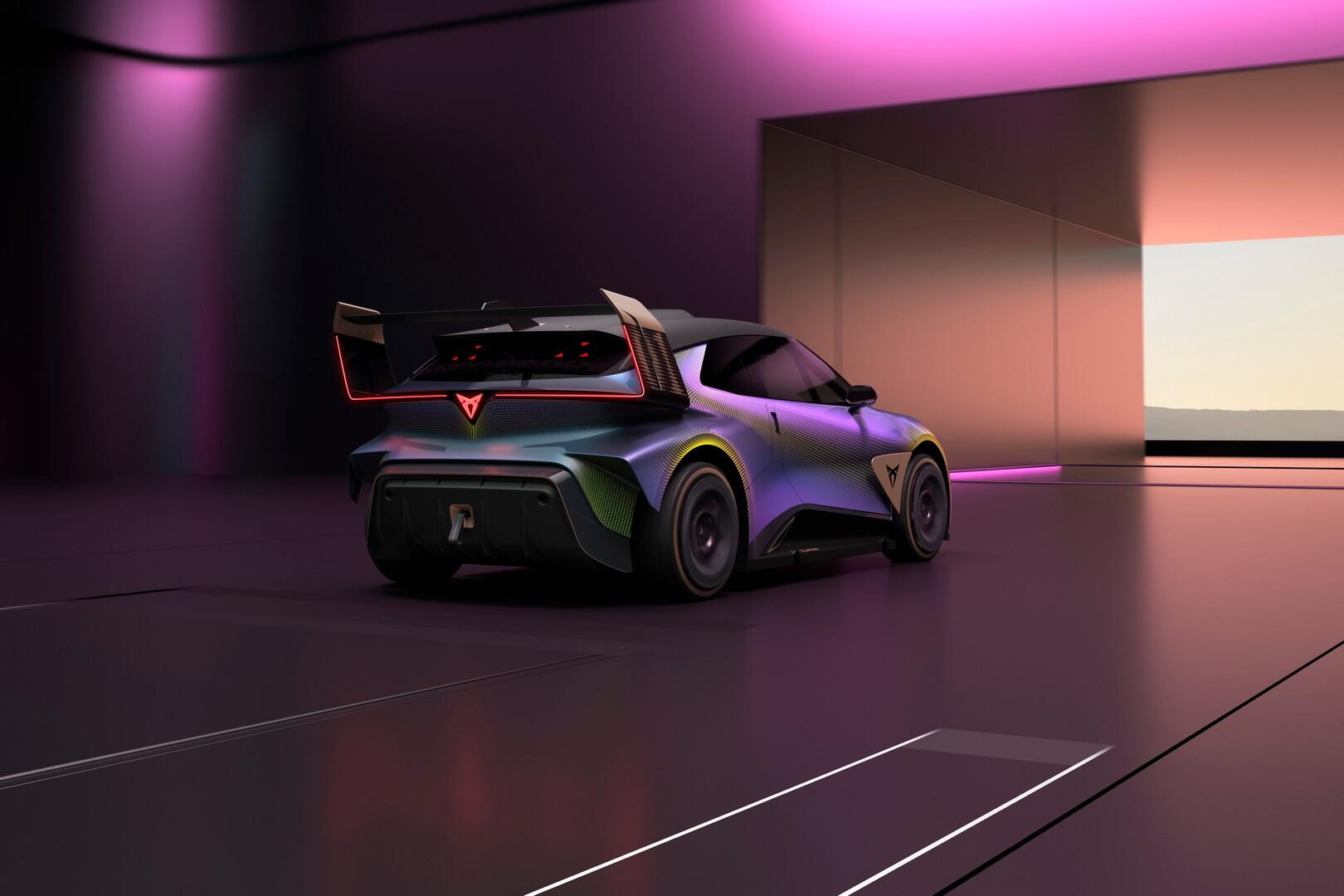 В основе концепции Cupra UrbanRebel лежит проектная основа полностью электрического городского автомобиля