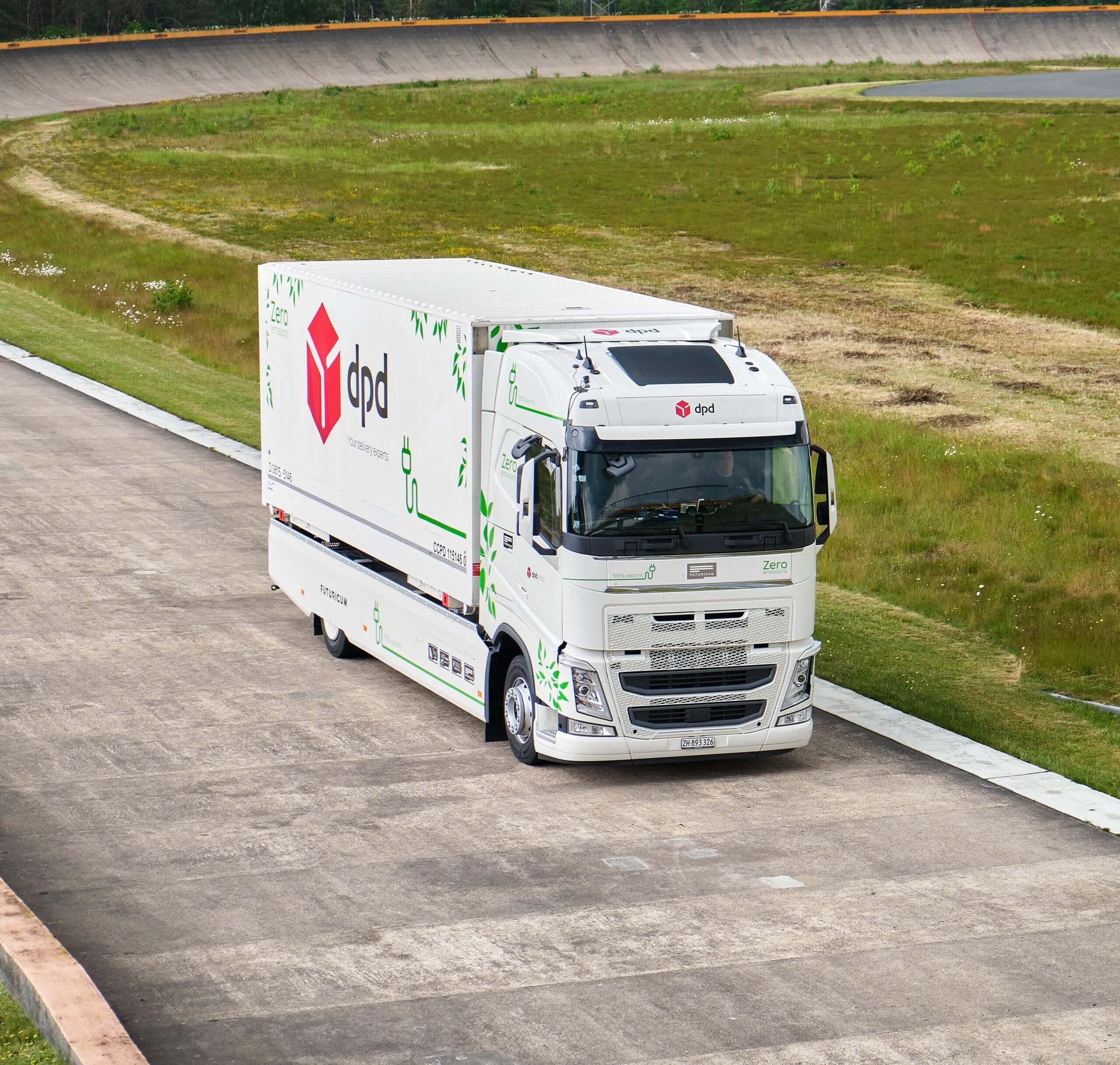 Электрический грузовик Futuricum установил рекорд пробега на одной зарядке